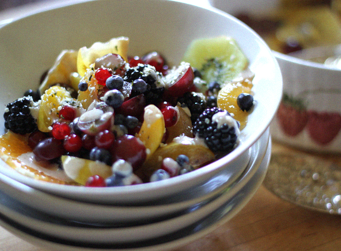 Chakra Fruit Salad