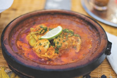 Ginger Turmeric Fish Curry